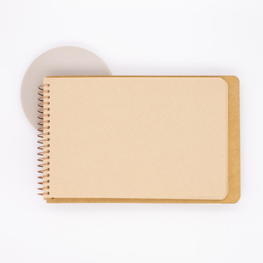 Traveler's Company Spiral Ring Notebook B6 Kraft Paper