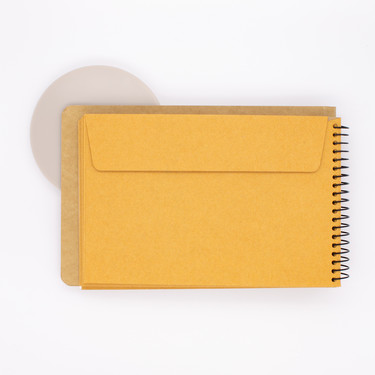 Traveler's Company Spiral Ring Notebook B6 Buste con Finestra