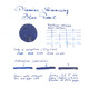 Diamine Shimmering Blue Pearl Inchiostro 50 ml
