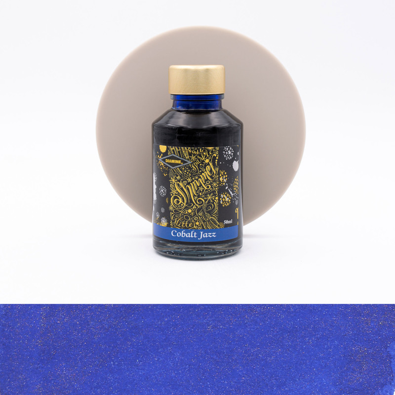 Diamine Shimmering Cobalt Jazz Inchiostro 50 ml