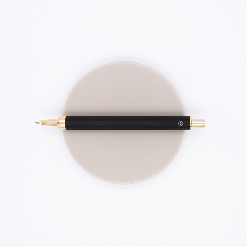 HMM Mechanical Pencil 0.7 mm Black & Gold