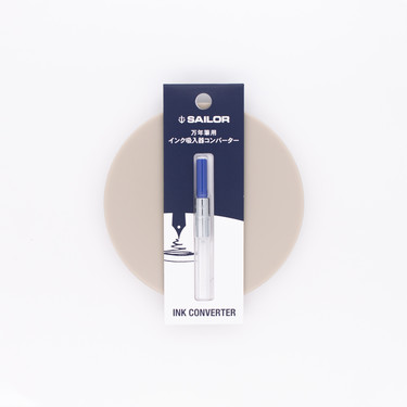 Sailor Fountain Pen Converter Blue