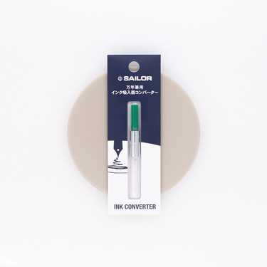 Sailor Fountain Pen Converter Green