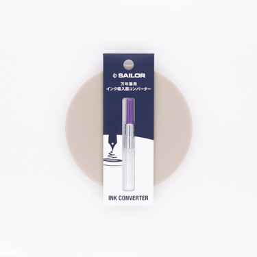 Sailor Fountain Pen Converter Purple