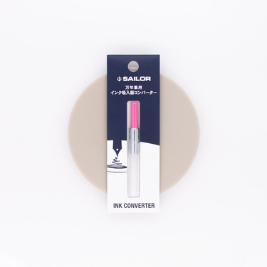 Sailor Fountain Pen Converter Pink