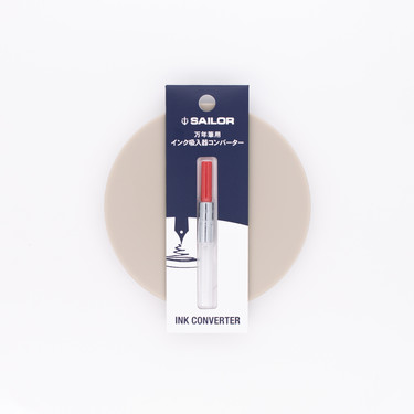 Sailor Fountain Pen Converter Red