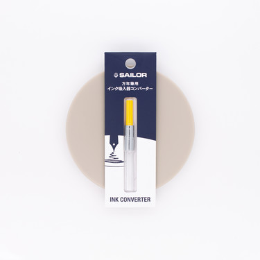 Sailor Fountain Pen Converter Yellow