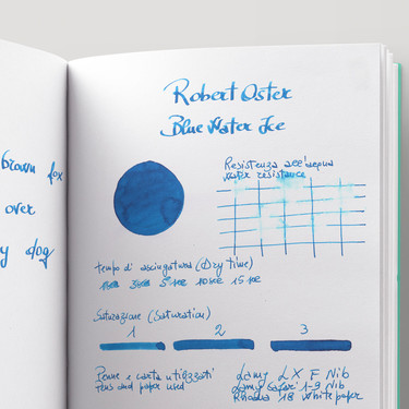 Robert Oster Blue Water Ice Ink Bottle 50 ml