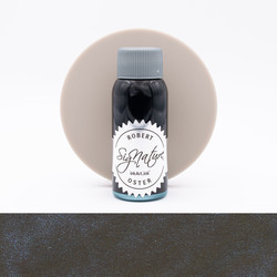 Robert Oster Shake 'N' Shimmy Black'N'Blue Inchiostro 50 ml
