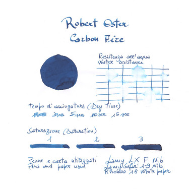 Robert Oster Carbon Fire Ink Bottle 50 ml