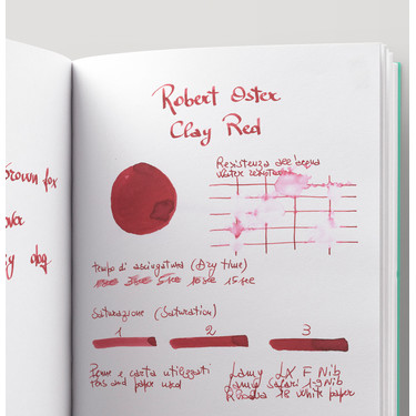 Robert Oster Clay Red Ink Bottle 50 ml