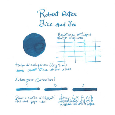 Robert Oster Fire and Ice Ink Bottle 50 ml