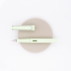 Lamy Safari Pastel Fountain Pen Mint Glaze 2019 Special Edition