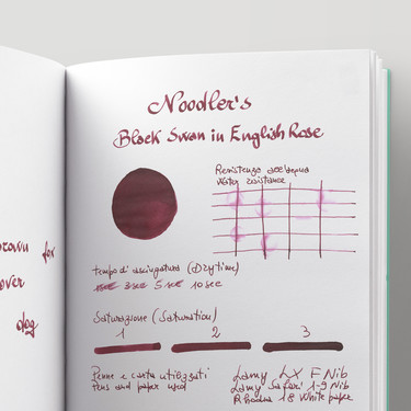 Noodler's Black Swan In English Rose Inchiostro 3 oz