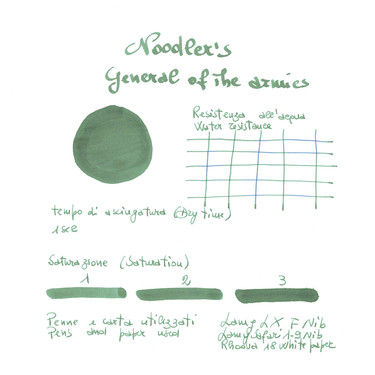 Noodler's General Of The Armies Inchiostro 3 oz