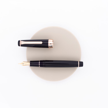 Sailor Professional Gear Fountain Pen Rose Gold Navy Special Edition