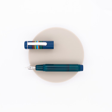 Opus 88 Fantasia Fountain Pen Blue