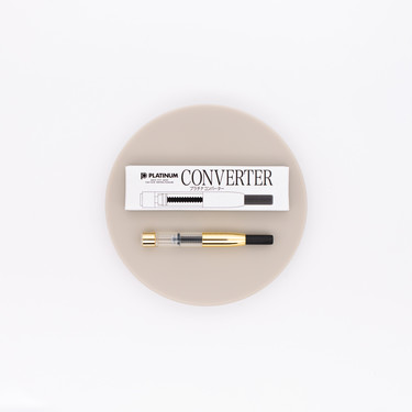 Platinum Fountain Pen Converter Gold
