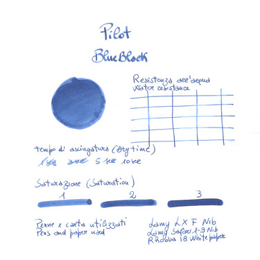 Pilot Blue Black 12 Ink Cartridges