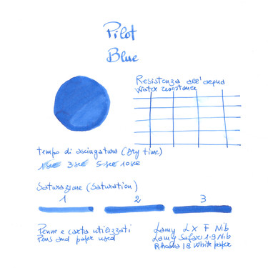Pilot Blue 6 Ink Cartridges