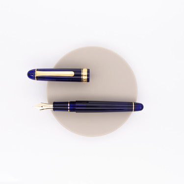 Platinum 3776 Century Fountain Pen Chartres Blue