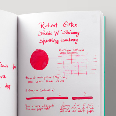 Robert Oster Shake 'N' Shimmy Sparkling Cranberry Inchiostro 50 ml