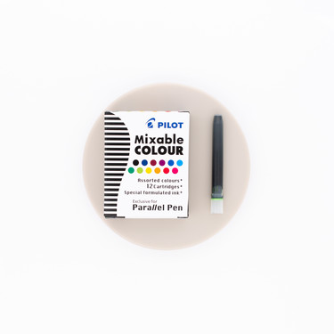 Pilot Mixable Colour 12 Ink Cartridges for Parallel Pen