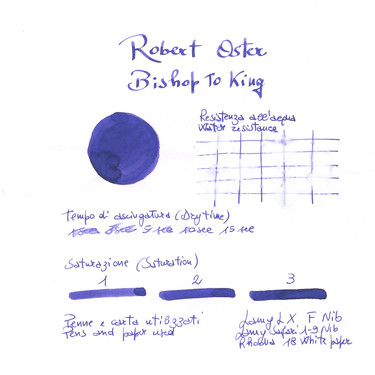 Robert Oster Bishop to King Inchiostro 50 ml