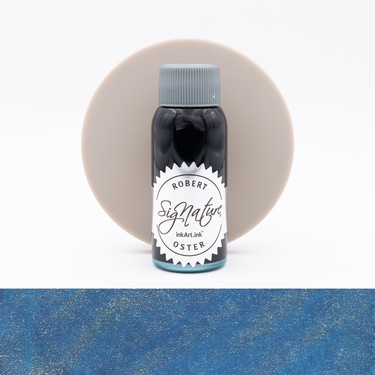 Robert Oster Shake 'N' Shimmy Silver Fire and Ice Inchiostro 50 ml