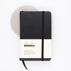Rhodia Webnotebook A6 Dot Black