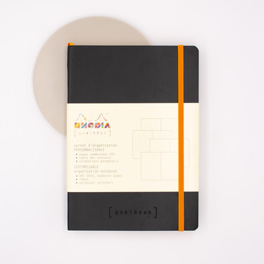 Rhodia Goalbook Notebook A5 Dot Black
