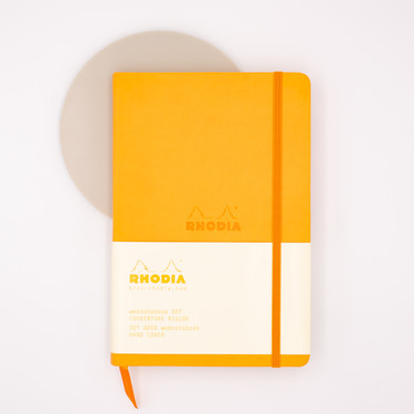 Rhodia Webnotebook A5 Dot Orange