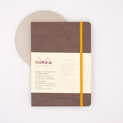 Rhodia Goalbook Notebook A5 Dot Chocolate