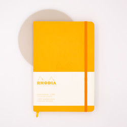 Rhodia Webnotebook A5 Lined Orange