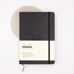 Rhodia Webnotebook A5 Dot Black