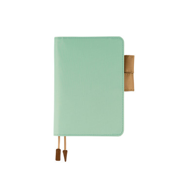 Hobonichi Techo Planner A6 Mint Cappuccino Set Cover + 2020 Diary