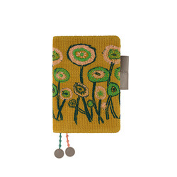 Hobonichi Techo Planner A6 Mina Perhonen: Path (Camel) Set Cover + 2020 Diary