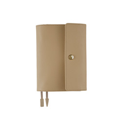 Hobonichi Techo Planner A6 Leather: Classic Beige Set Cover + 2020 Diary