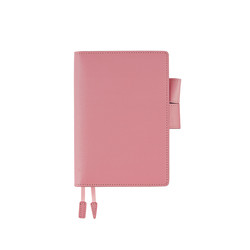 Hobonichi Techo Planner A6 Leather: Sweet Pink Set Cover + 2020 Diary