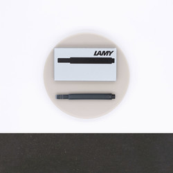 Lamy T10 Black 5 Ink Cartridges