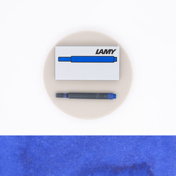 Lamy T10 Blue 5 Ink Cartridges