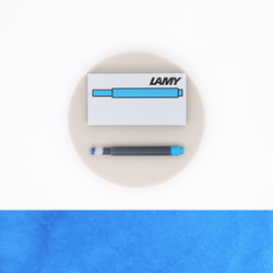 Lamy T10 Turquoise 5 Ink Cartridges