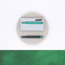 Lamy T10 Green 5 Ink Cartridges