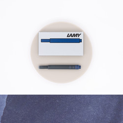 Lamy T10 Blue Black 5 Ink Cartridges