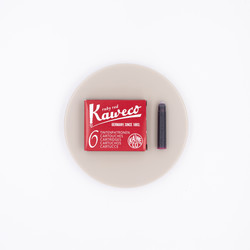 Kaweco Ruby Red 6 Ink Cartridges