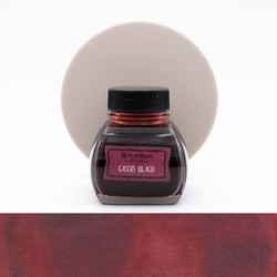 Platinum Classic Ink Cassis Black Ink Bottle 60 ml