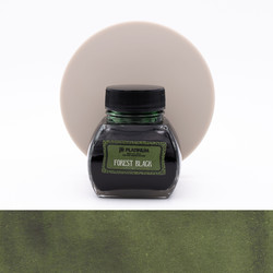 Platinum Classic Ink Forest Black Ink Bottle 60 ml