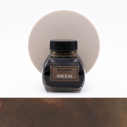 Platinum Classic Ink Khaki Black Ink Bottle 60 ml