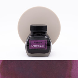 Platinum Classic Ink Lavender Black Ink Bottle 60 ml
