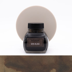 Platinum Classic Ink Sepia Black Ink Bottle 60 ml